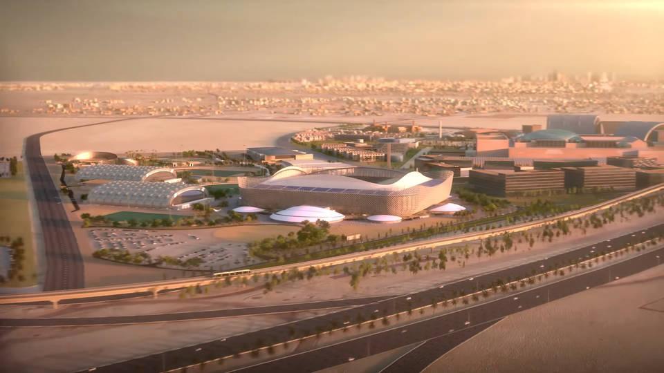 Стадион Аль-Райян (Al-Rayyan Stadium). Катар 2022