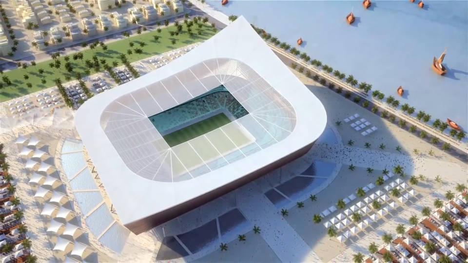 Al-Shamal Stadium Стадионы Катар